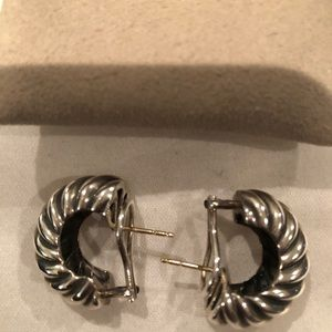 David Yurman Sculpted Earrings